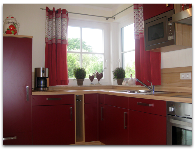 Die Ferienwohnung vom Ferienhaus Sonnenschein verfügt über eine vollausgestatte Küche
