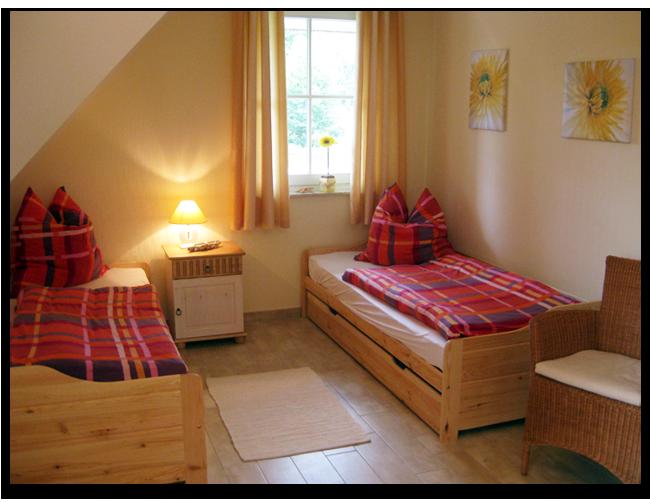 Schlafzimmer 3 im Ferienhaus